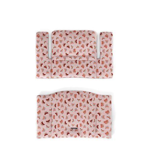 Tripp Trapp® Classic Cushion Pink Fox. Flatlay.