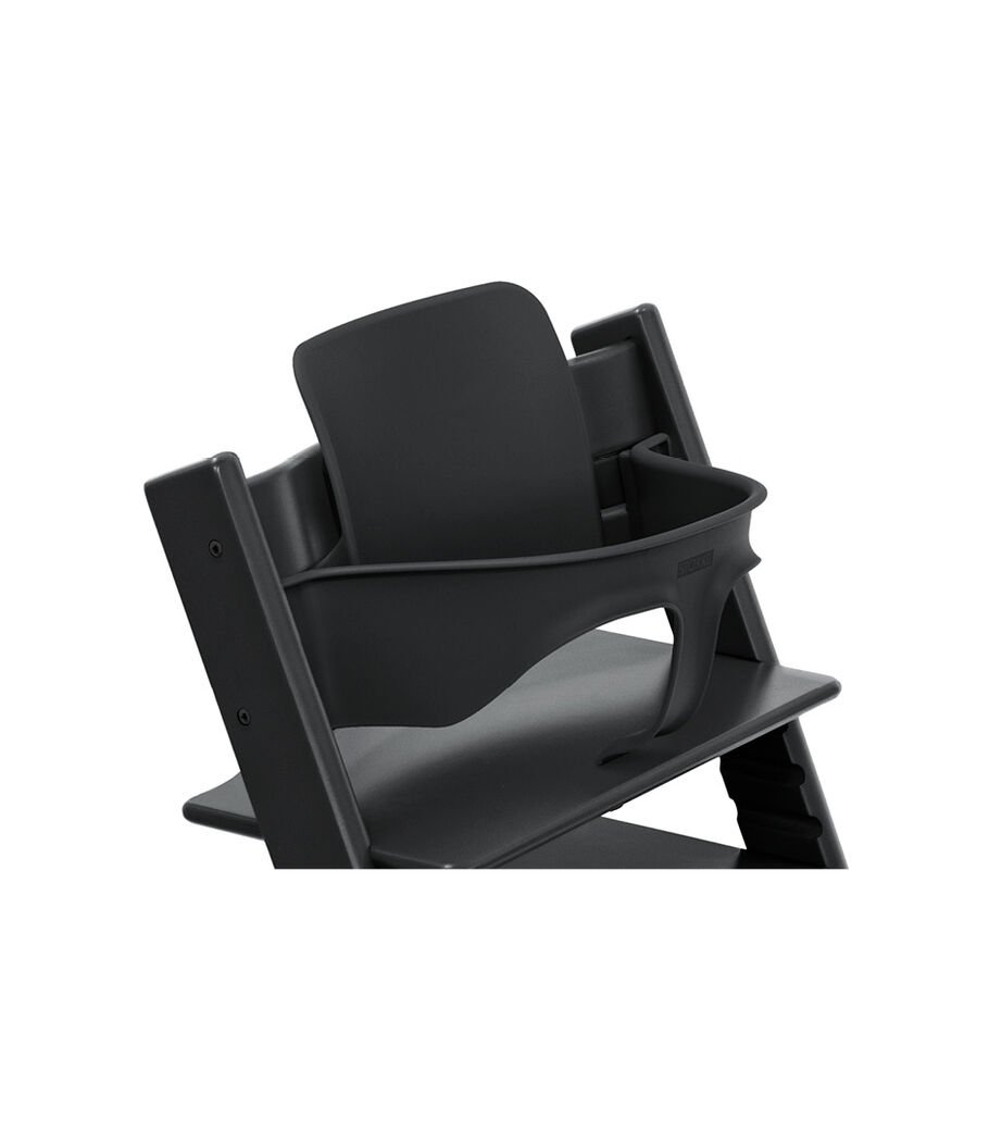 Tripp Trapp® Chair Black with Baby Set. Close-up. view 50
