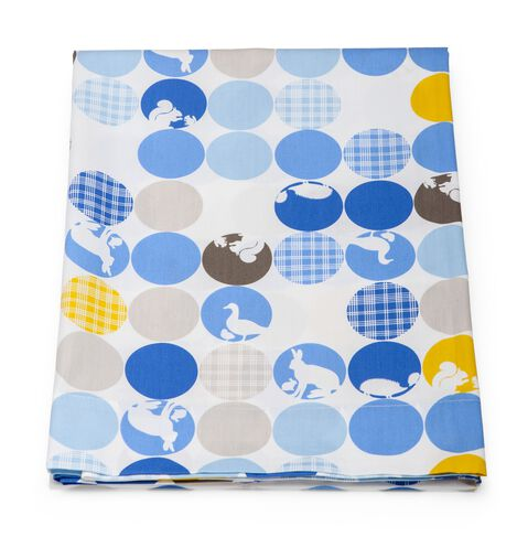 Flat Sheet, Silhouette Blue