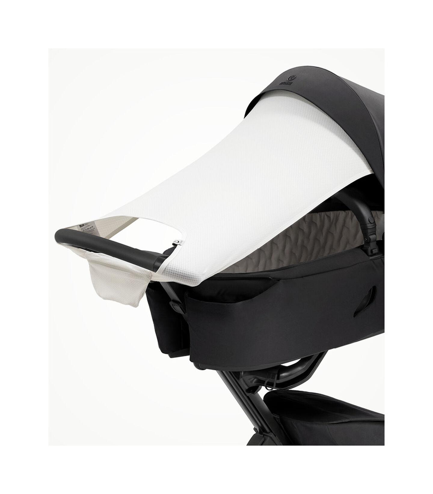 Stokke® Xplory® X Sonnensegel Light Grey, Light Grey, mainview view 2