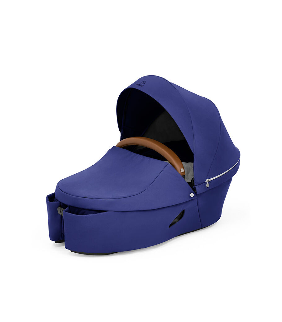 Stokke® Xplory® X Royal Blue Carry Cot. view 14