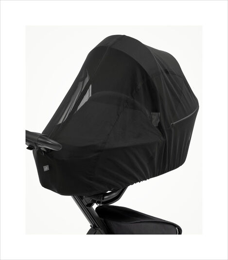 Stokke® Xplory® X Mosquito Net Black, Black, mainview view 3