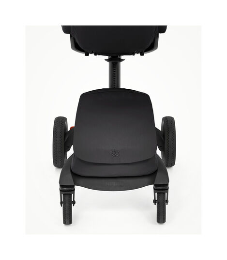 Stokke® Xplory® X Rich Black Stroller with Seat. Zoomed. view 5