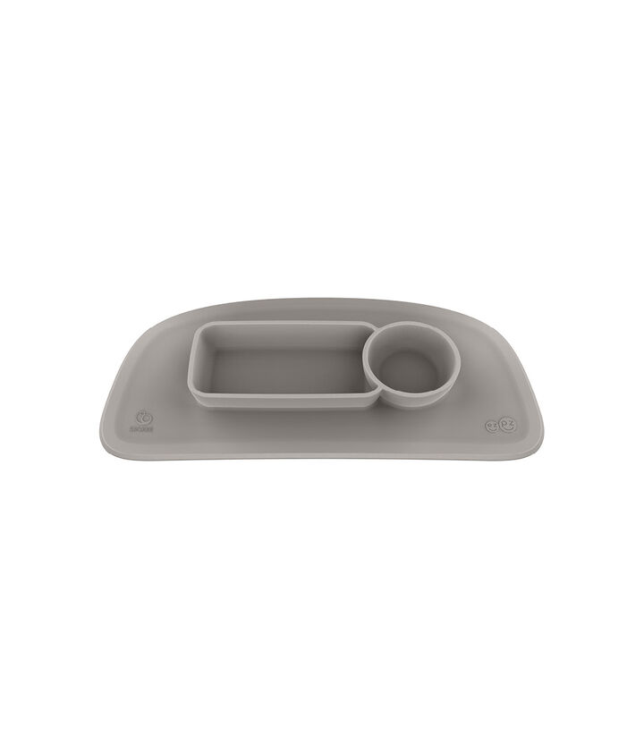 ezpz™ by Stokke™ placemat for Stokke® Tray Soft Grey, Soft Grey, mainview view 1