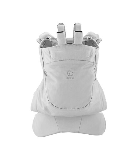 Stokke® MyCarrier™ OCS Frontal y Dorsal Gris, Gris, mainview view 3
