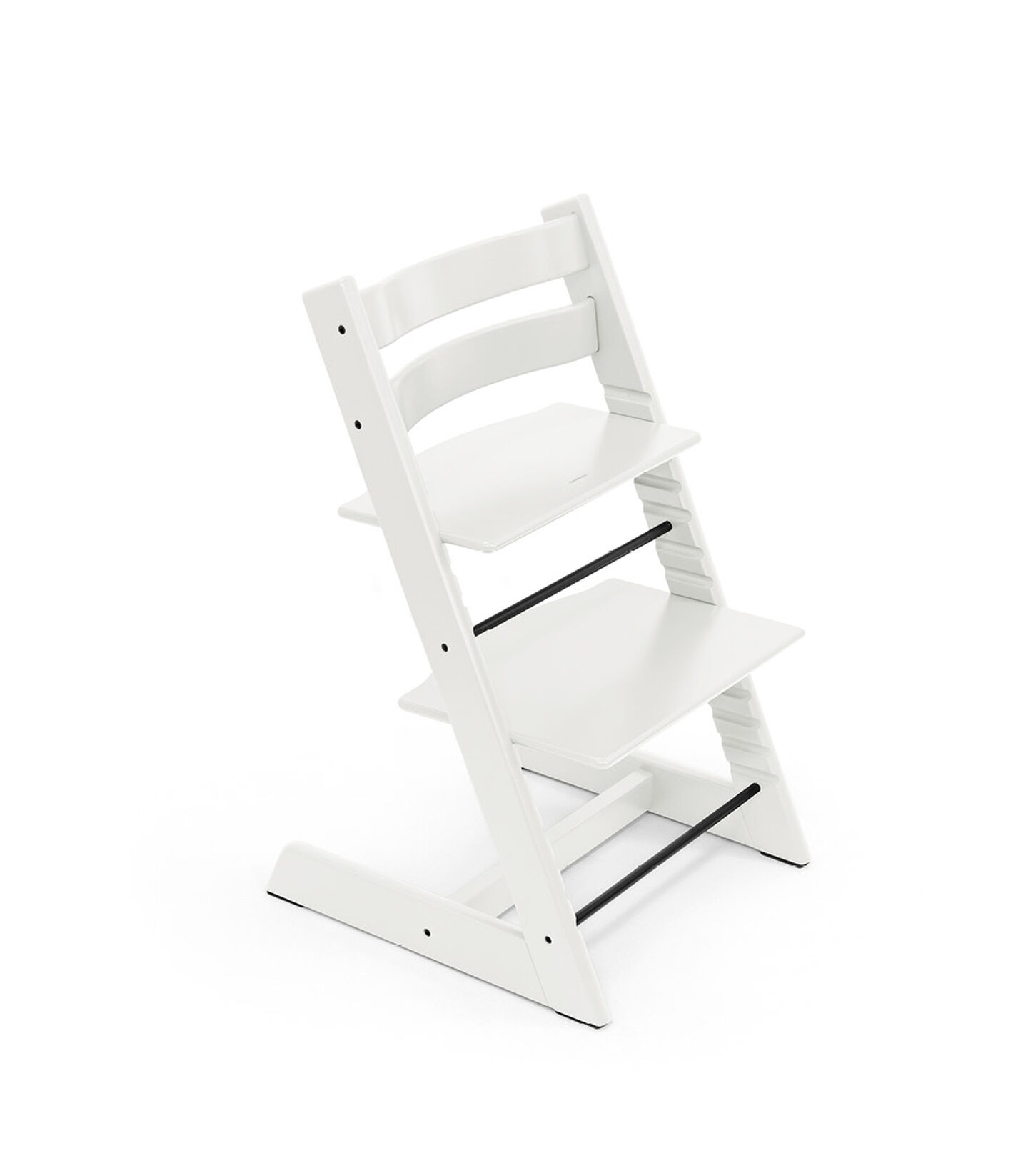 Tripp Trapp® chair White, Beech Wood. view 2