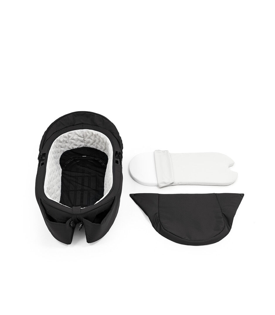 Stokke® Xplory® X Carry Cot Rich Black, Насыщенный черный, WhatsIncl view 1