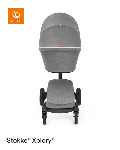 Stokke® Xplory® X Carry Cot Modern Grey, Modern Grey, mainview view 10