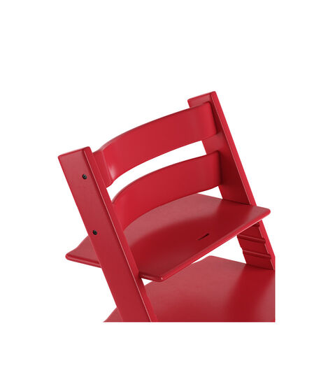 Tripp Trapp® Chair close up 3D rendering Red