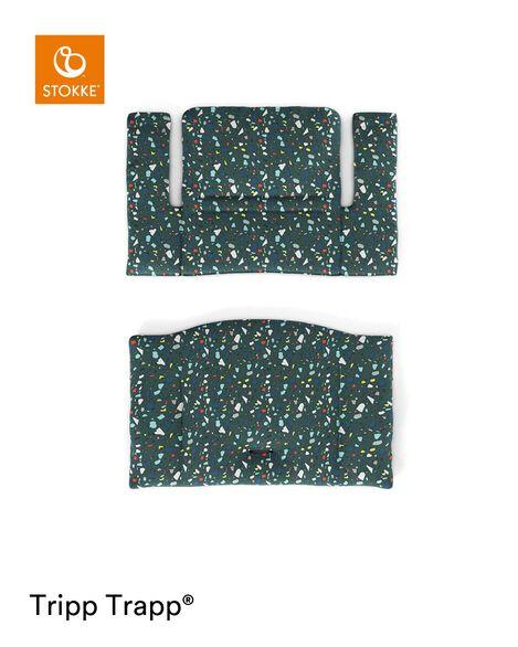 Tripp Trapp® Classic Cushion Terrazzo Petrol. Flatlay. view 6