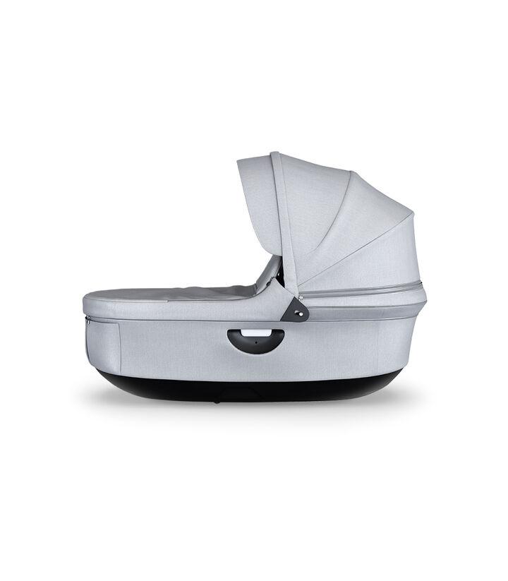 Strokke® Stroller Carry Cot, Grey Melange.