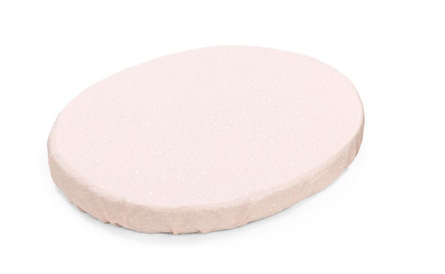 Stokke® Sleepi™ Fitted Sheet. Pink Bee.