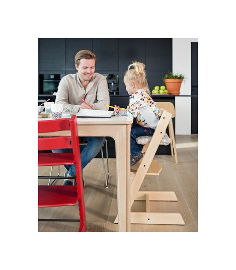 Tripp Trapp® Bundle High Chair US 18 Natural, Natural, mainview view 3
