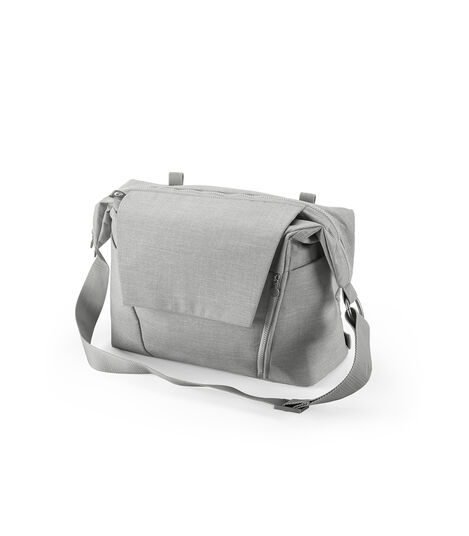 Stokke® Changing Bag Grey Melange, Grey Melange, mainview view 4