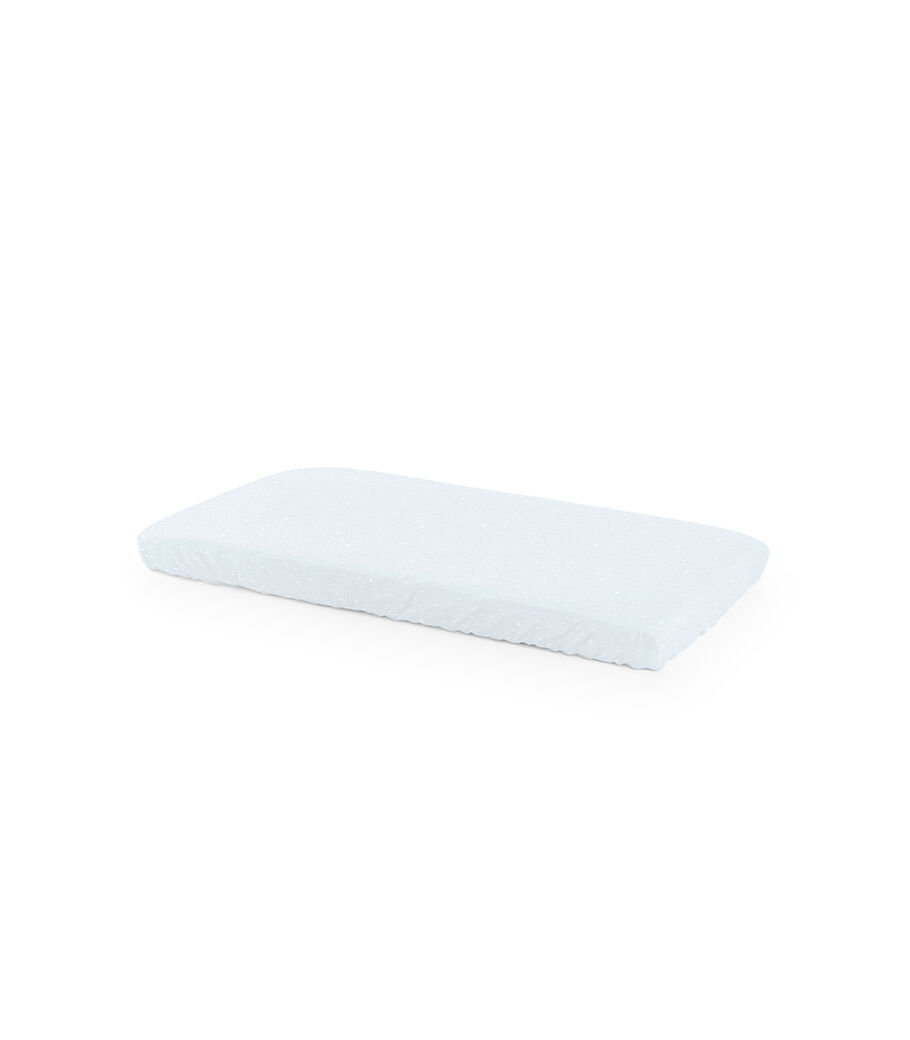 Stokke® Home™ Fitted Sheet. Blue Sea.