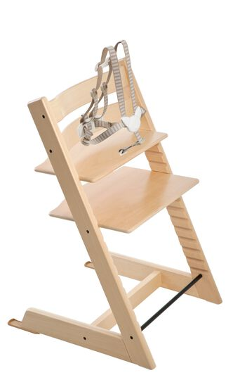 The classic wooden high chair for baby and childThe original Tripp Trapp  high chair for babies  from Stokke. High Chair Like Stokke. Home Design Ideas