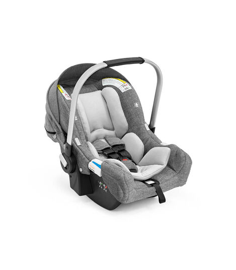 Stokke® PIPA™ by Nuna® Black Car Seat Black Melange, Black Melange, mainview view 5