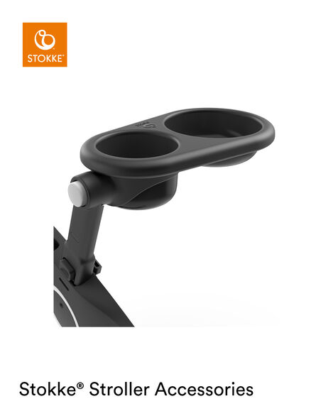 Stokke® Stroller Snack Tray Black, , mainview view 6