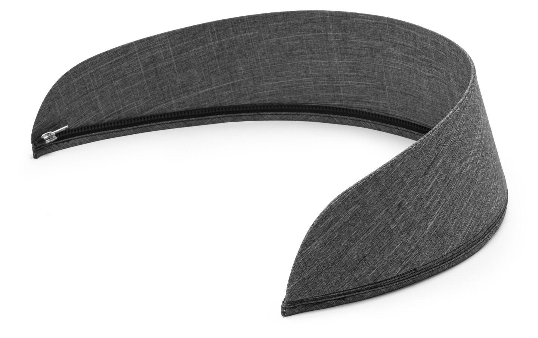 Stokke® Stroller Seat spare part. Stroller Visor for Hood, Black Melange.