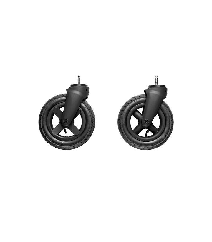 Stokke® Trailz™ Ruote fuoristrada anteriori Black (2pz), , mainview view 1