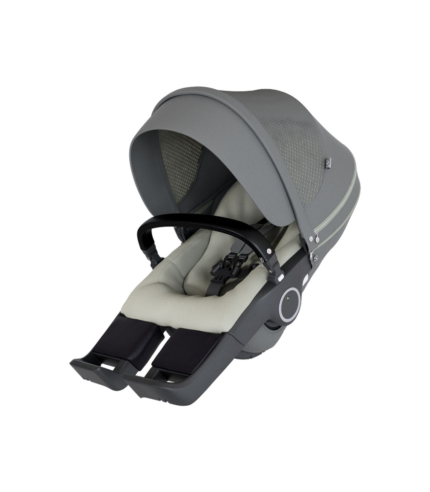 Stokke® Stroller Seat Athleisure Green, Зелёно-розовый, mainview view 2