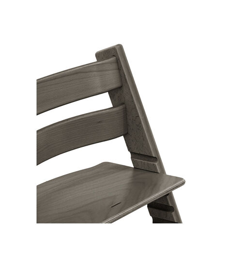 Tripp Trapp® Chair close up photo Hazy Grey view 4