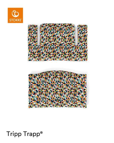 Tripp Trapp® Classic Cushion Honeycomb Happy. Flatlay. view 6
