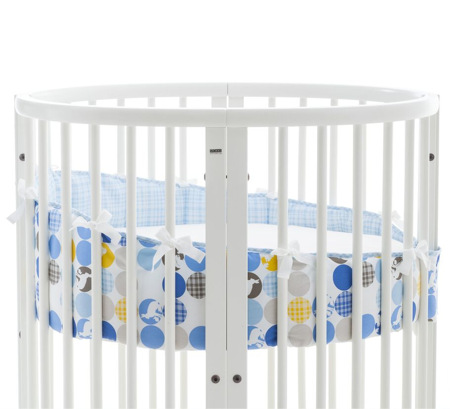 Stokke® Sleepi™ Mini Bumper, Silhouette Blue