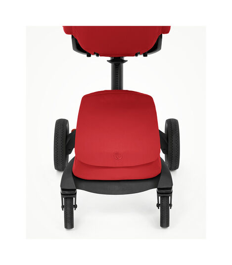 Stokke® Xplory® X Ruby Red Stroller with Seat. Zoomed. view 4