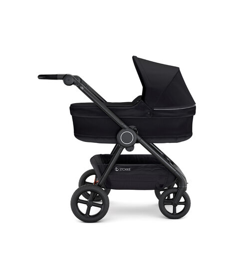 Stokke® Beat Carry Cot Black, Black, mainview view 3