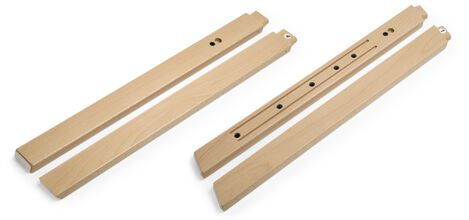 Stokke® Steps™ Wood leg set, Natural. Complete.