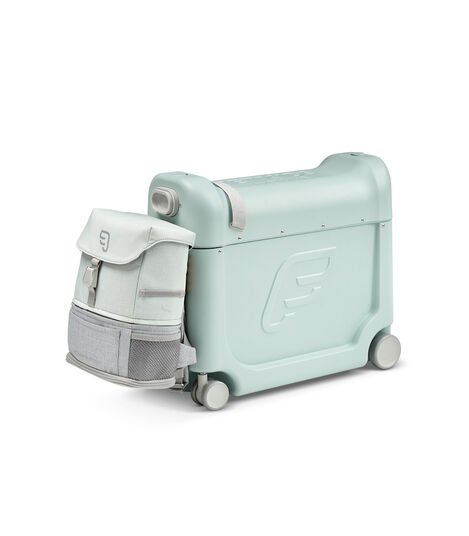 JetKids™ by Stokke® Crew BackPack on BedBox V3, Green Aurora view 11