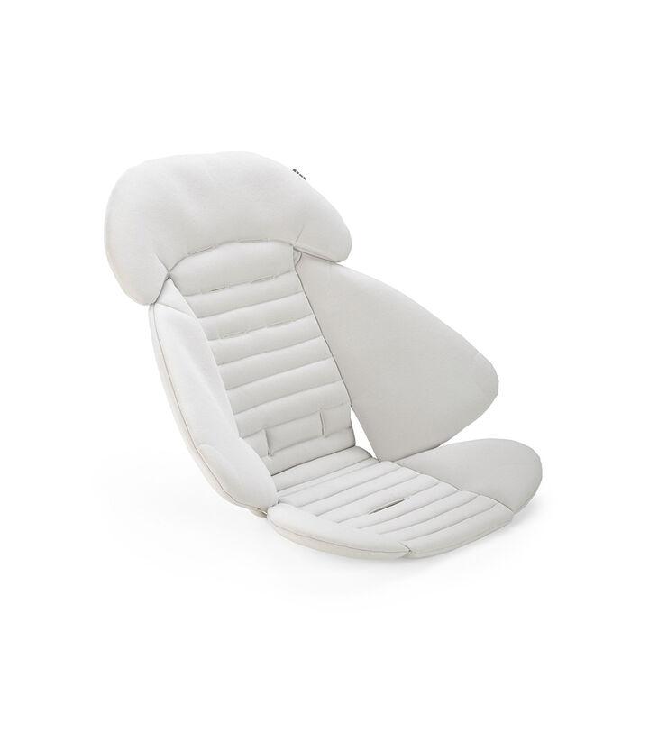 Stokke® kinderwagen inlay voor zitje in kleur Grey, Grey, mainview view 1