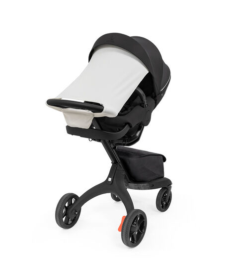 Stokke® Xplory® X Sun Shade Light Grey, Light Grey, mainview view 4