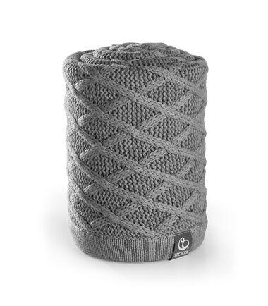 Stokke® Stroller Blanket, Cable Grey.