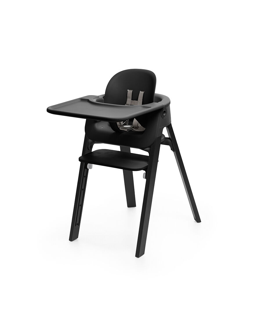 Tray, Baby Set. Mounted On Stokke Steps Highchair.