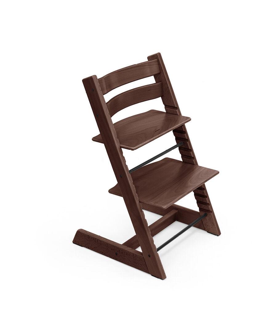 Tripp Trapp® chair Walnut Brown, Beech Wood.