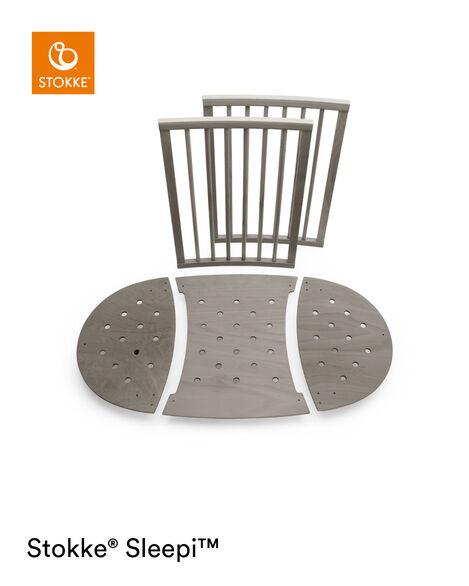 Stokke® Sleepi™ Extension Bed Hazy Grey, Hazy Grey, mainview view 6