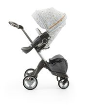 Stokke® Stroller Seat Style Kit Grid with Stokke® Xplory® chassis, Black Melange