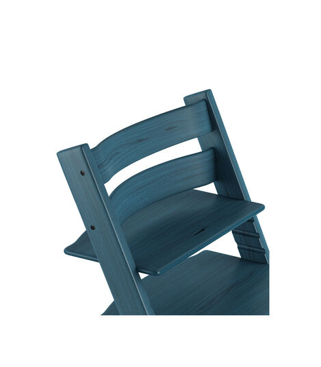 Tripp Trapp® Chair close up 3D rendering Midnight Blue