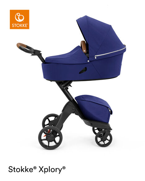 Stokke® Xplory® X Carry Cot Royal Blue, Королевский синий, mainview view 9