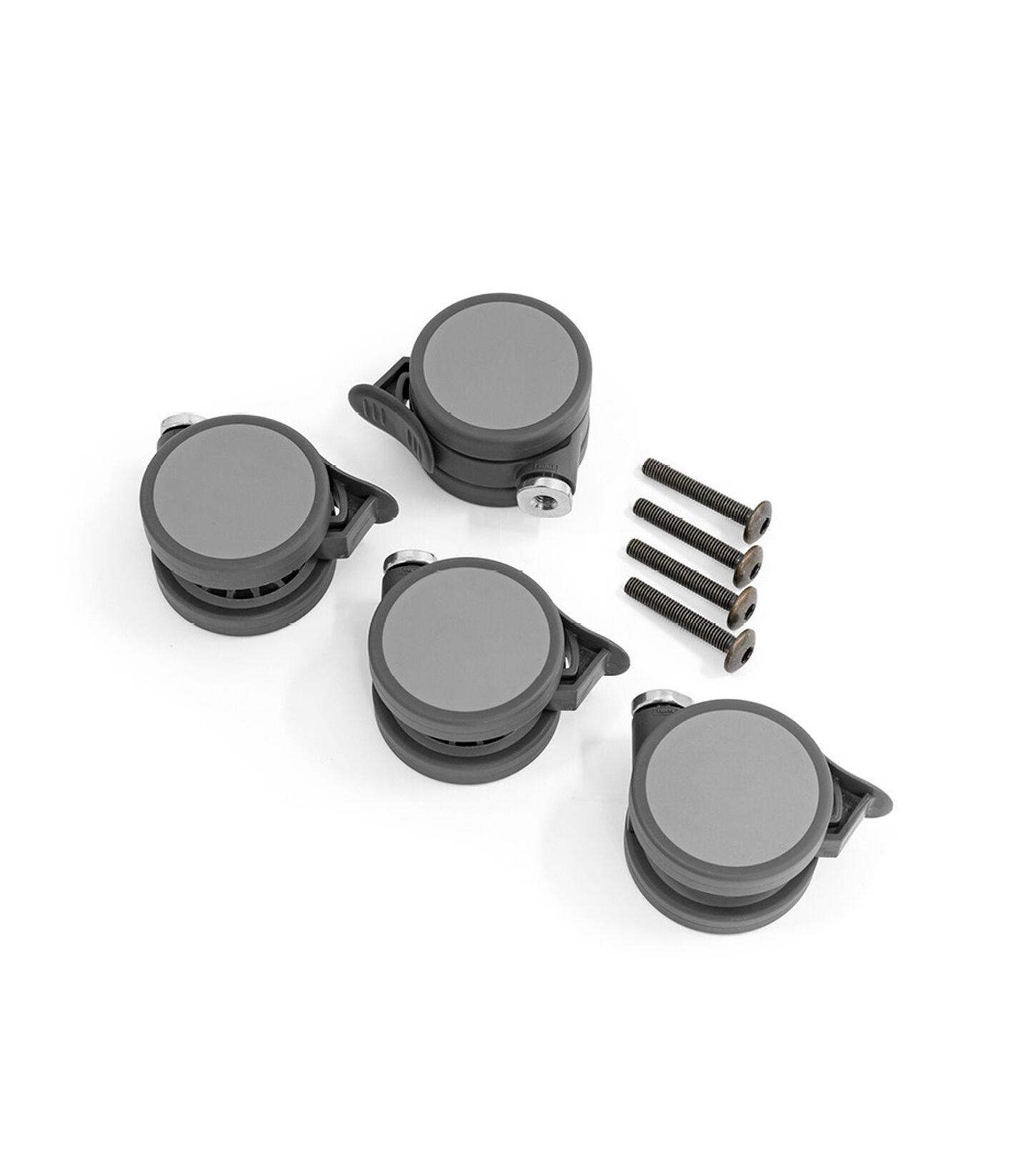 Stokke® Sleepi™ Wheel screwbag Grey, Gris, mainview
