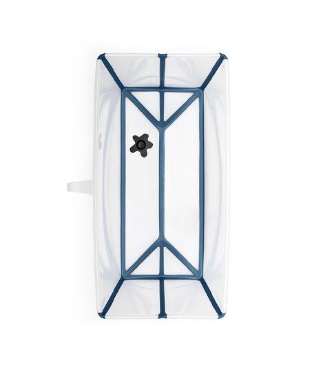 Stokke® Flexi Bath® bath tub, Transparent Blue. Open. view 6