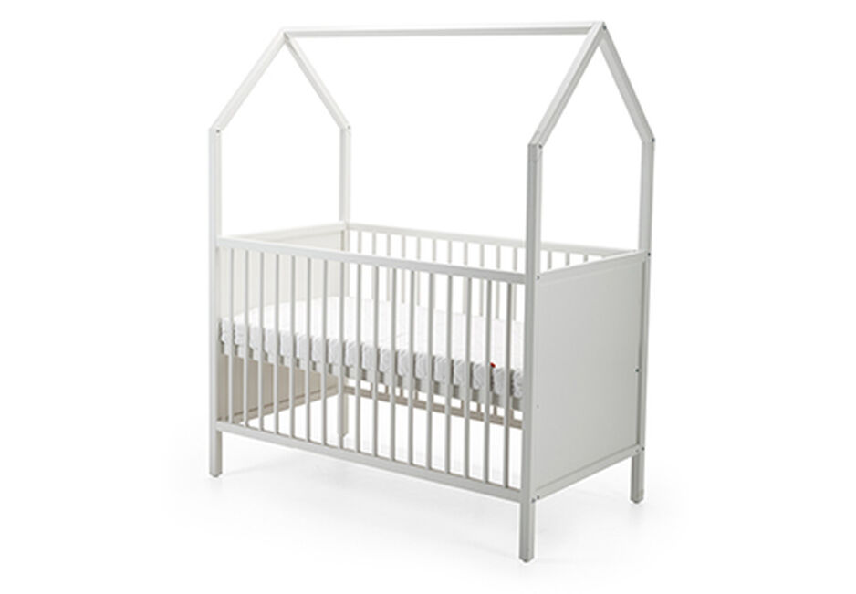 Stokke® Home™ Bed, White. Items included. view 1