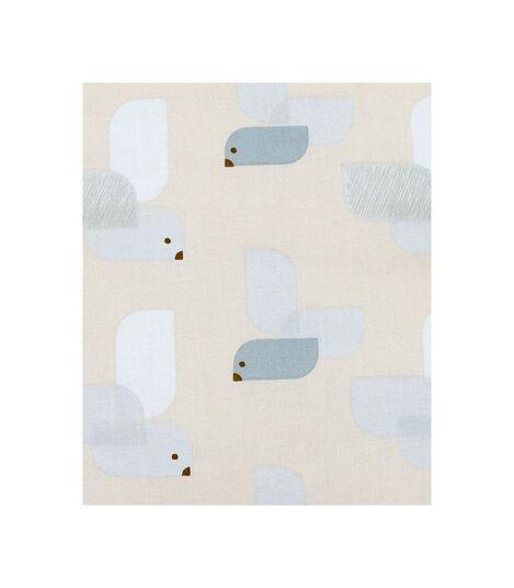 Tripp Trapp® Classic Cushion Birds Blue. Textile sample. view 4