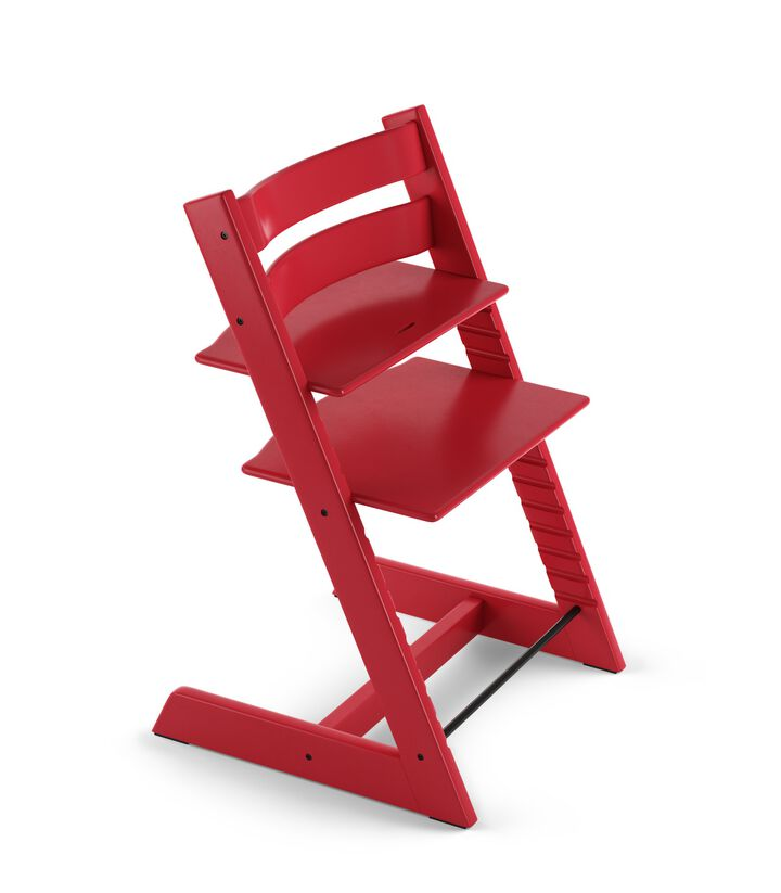 Tripp Trapp® Chair Red, Beech.