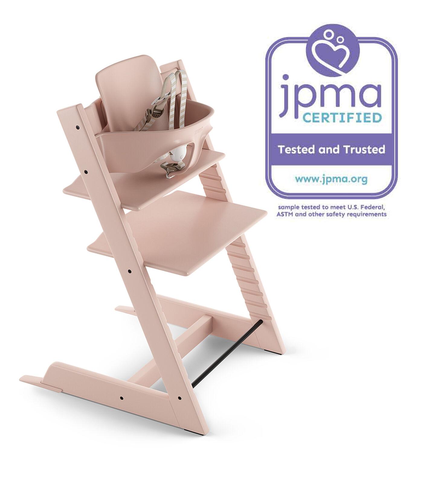 Tripp Trapp® Bundle High Chair US 18 Serene Pink