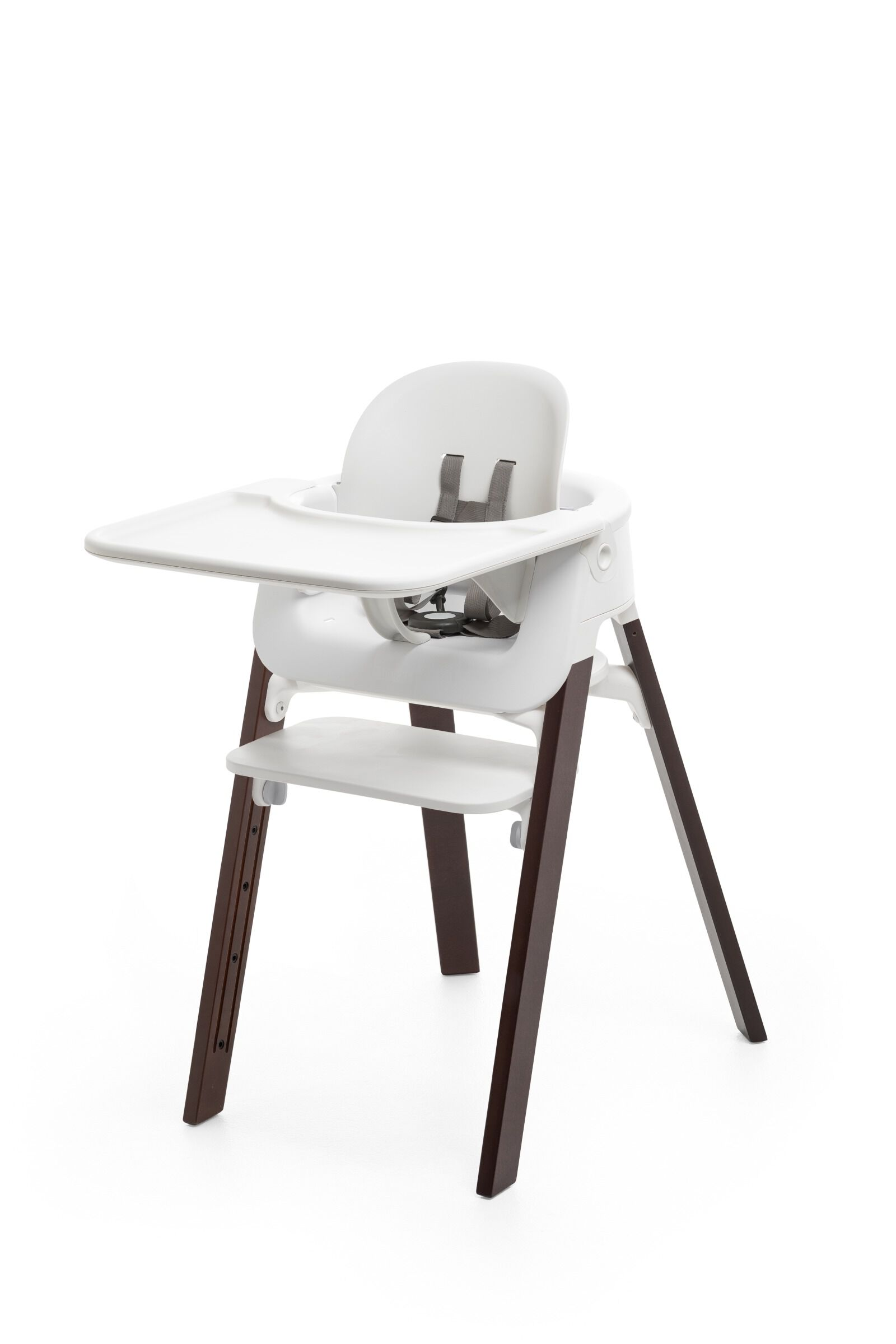 Merveilleux Tray And Baby Set. Mounted On Stokke Steps Highchair.