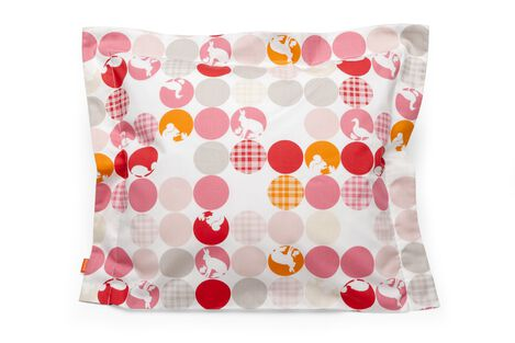Cushion, Silhouette Pink