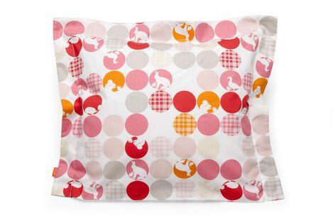 Cushion, Silhouette Pink